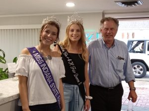 Indiana State Fair Queen Visits Frankfort and Clinton County