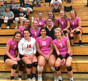 Rossville Sweeps Sheridan In Girls Volleyball Action Clinton County Daily News