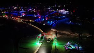 Tpa Park Christmas Lights 2020 Beautiful Flyover Video Of TPA Park Christmas Lights – Clinton